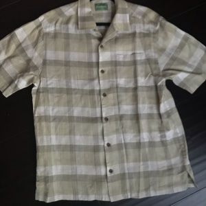 Tommy Bahama 100% Linen Button Down